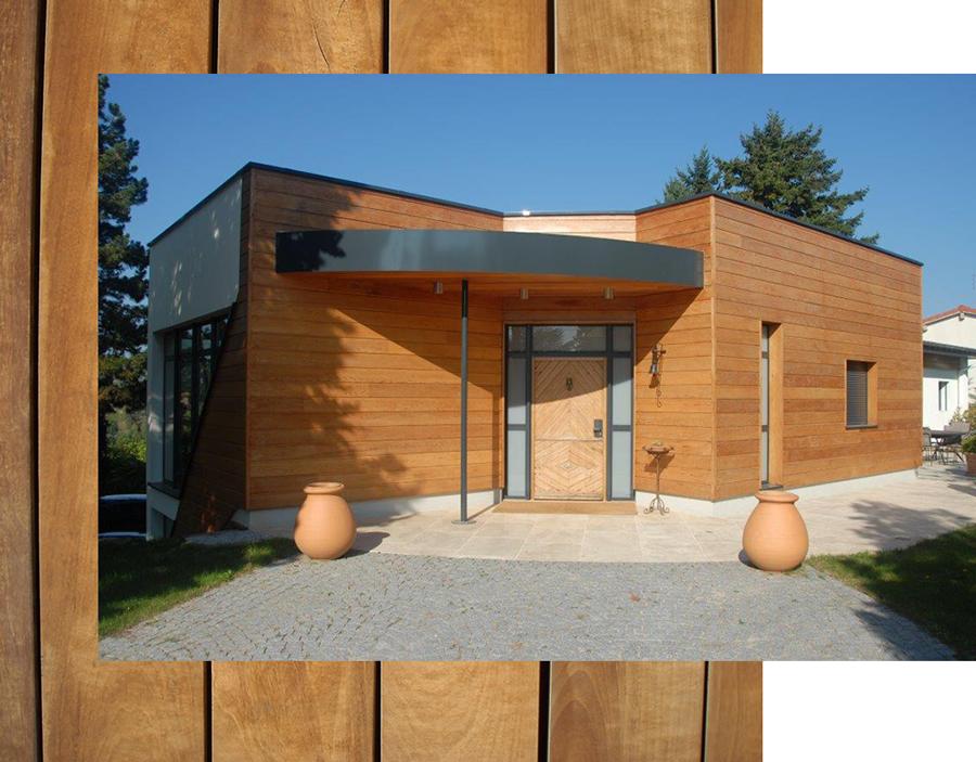 construction maison ossature bois autour de lyon dans le rh ne. Black Bedroom Furniture Sets. Home Design Ideas