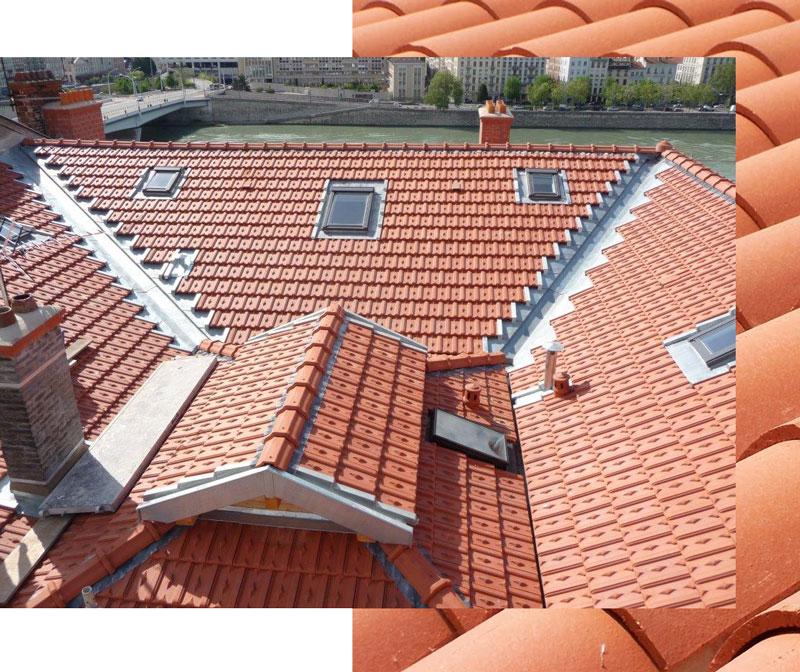 Pose et intervention sur toiture charpente et zinc pr s de lyon rh ne for Budget toiture